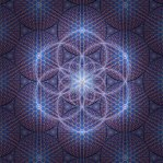 Seed of Life Blue