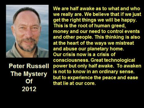 Peter Russell Quote